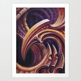 BioClass1 -Adam France Art Print