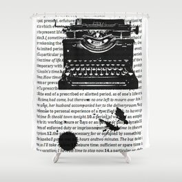 Letters To Saul Shower Curtain