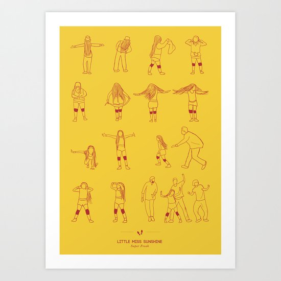 Super Freak Art Print