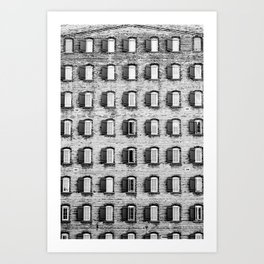 Holes In A Wall Art Print