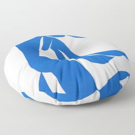 Henri Matisse, Bleu Freedom, Nude (Blue Freedom, Nude) lithograph modernism portrait painting Floor Pillow