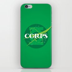 For The Corps iPhone & iPod Skin