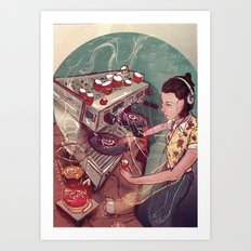 Caffeine magazine issue 5 Art Print