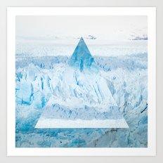 Glacier One Art Print
