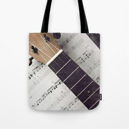 happy strings {ukulele Tote Bag