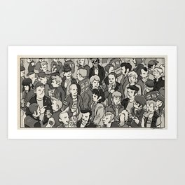 If The Kids Are United Art Print