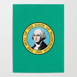 Washington State Flag Poster