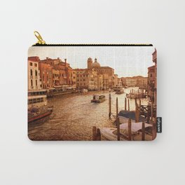 Grande Canal at Dusk Carry-All Pouch