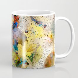 Absract Yellow 332 Coffee Mug