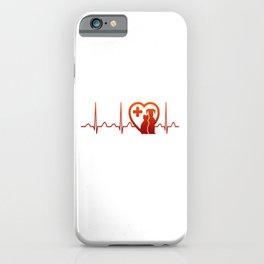 Vet Heartbeat iPhone Case