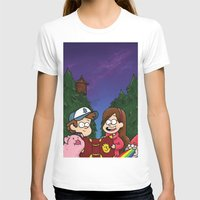 gravity falls T-shirts featuring Gravity Falls by toibi