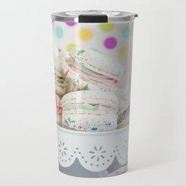 Splatter Macarons Party Travel Mug