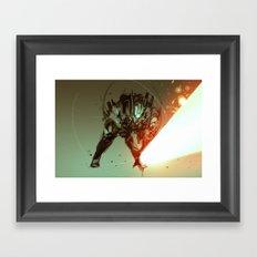 slashdown forge Framed Art Print