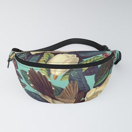 FLORAL AND BIRDS XXI Fanny Pack