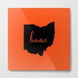 Ohio is Home - Go Bengals Metal Print