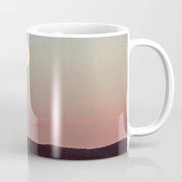 Moon Over Grand Teton Coffee Mug