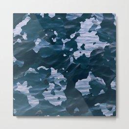 Surfing Camouflage #6 Metal Print