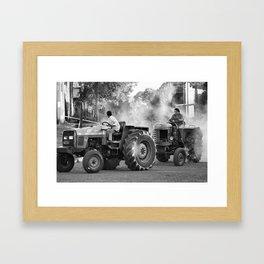 pull me Framed Art Print