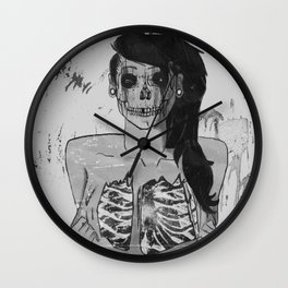 Inner Void Wall Clock