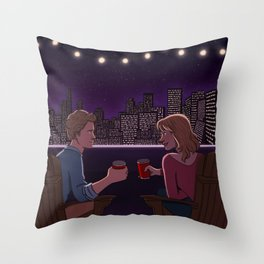 End of All the Endings Throw Pillow