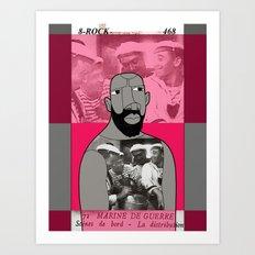 1001 Black Men--#468 Art Print