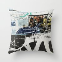 plane Throw Pillows featuring Plane by Atlen
