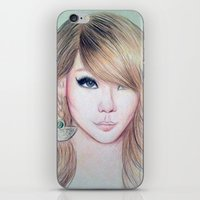 2ne1 iPhone & iPod Skins featuring CL (2NE1) - Lee Chae Rin by Hileeery