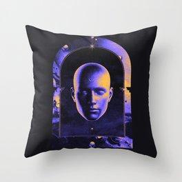 SOLACE — AEFORIA + MALAVIDA Throw Pillow