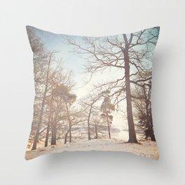 Winter Trees. Throw Pillow