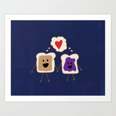 We Go Together Like.. Art Print