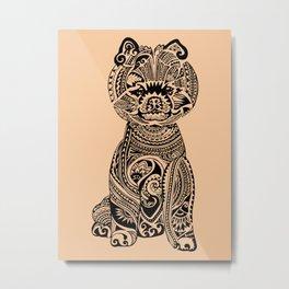 Polynesian Pomeranian Metal Print