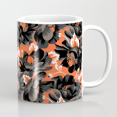 Mount Cook Lily - Orange/Black