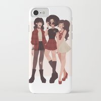 airbender iPhone & iPod Cases featuring Ozai's Angels by punziella