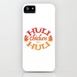 Huli Huli Chicken. Maui, Hawaii iPhone Case