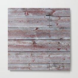 Brown Red Barn Metal Print