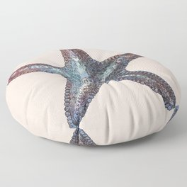 Nautical Starfish Floor Pillow