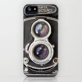 Vintage Autocord Camera iPhone Case