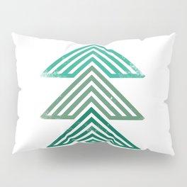 Mountain trees vintage Pillow Sham