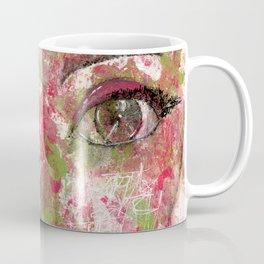 Come Thru Pink and Green Coffee Mug