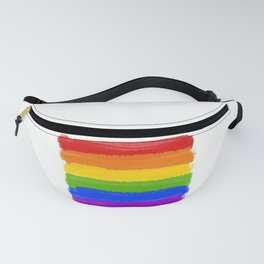 Rainbow Pride Flag Fanny Pack