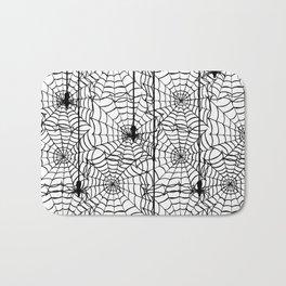 Spider Cob Web Halloween Bath Mat