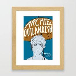 Archie of Outlandish Poster Framed Art Print