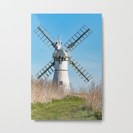 Thurne Mill, Norfolk Metal Print