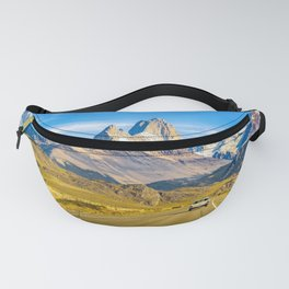 Snowy Andes Mountains, El Chalten, Argentina Fanny Pack