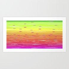 Saucers Art Print