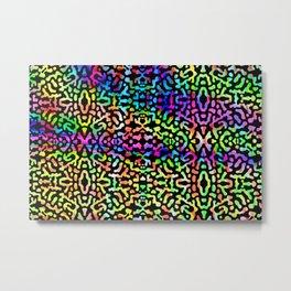 Colorandblack series 1234 Metal Print