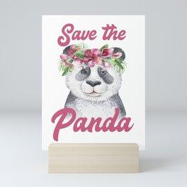Save the Panda -#1 Mini Art Print