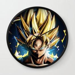 Super Saiyan Goku Wall Clock