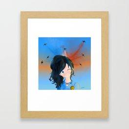 Agathe Framed Art Print