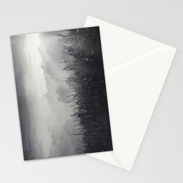 veiled land Stationery Cards